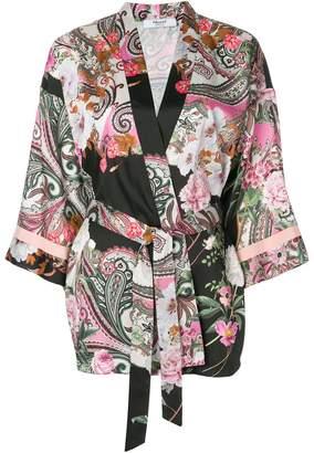 Blugirl printed belted kimono