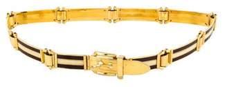 Gucci Chain-Link Web Belt