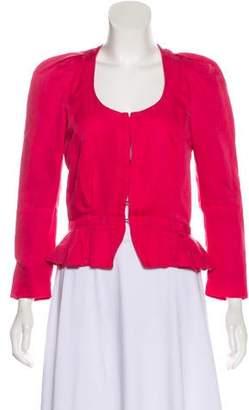Etoile Isabel Marant Collarless Woven Blazer