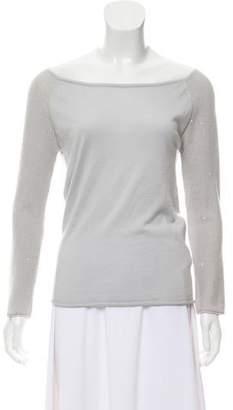 Fabiana Filippi Embellished Cashmere & Silk Sweater