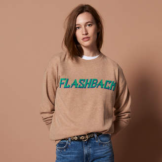 Sandro Wool and cashmere FLASHBACK sweater