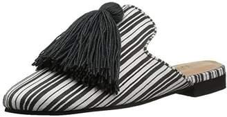 Kaanas Women's COCUY Striped Mule Slide Tassel Shoe
