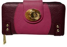 Kardashian Kollection Two Tone Wallet Purple Pink