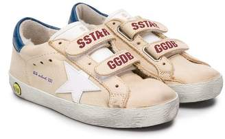 Golden Goose Kids Superstar distressed sneakers