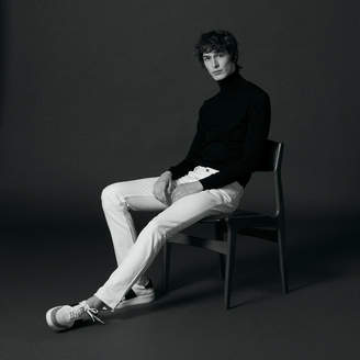 Sandro White narrow cut jeans