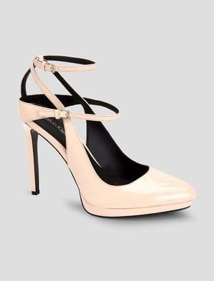 Calvin Klein shawna ankle strap heel