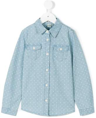 Courage And Kind Kids Minnie Mouse chambray shirt