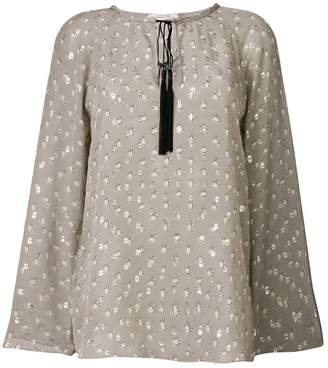 Schumacher Dorothee Heavenly Light printed blouse