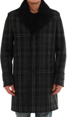 2401d7198 Mens Fur Collar Coat - ShopStyle UK