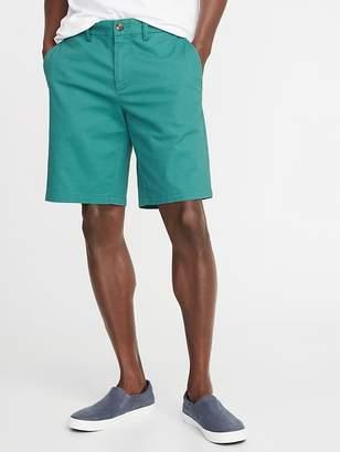 Old Navy Slim Ultimate Built-In Flex Khaki Shorts for Men - 10 inch inseam