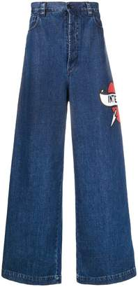 Sunnei wide leg jeans