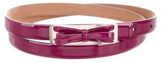 Salvatore Ferragamo Bow Waist Belt