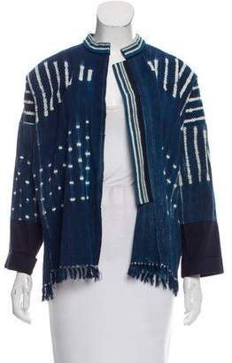 Giada Forte Open-Front Casual Jacket