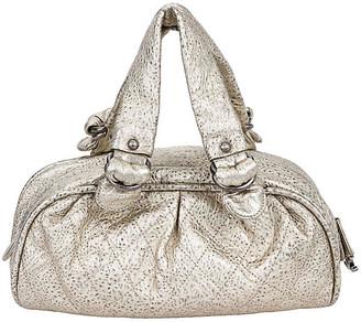 77464ef40650 One Kings Lane Vintage Chanel Le Marais Platinum Leather Bag - Vintage Lux