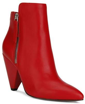 Kenneth Cole Women's Galway Leather High-Heel Booties