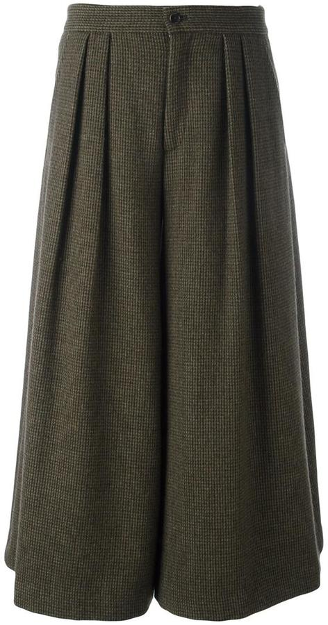 Ralph Lauren microchecked skirt