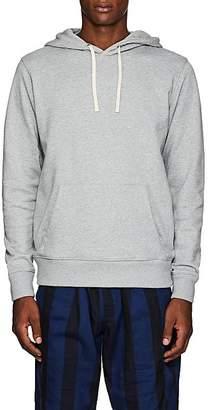 Saturdays NYC Men's Slash-Embroidered Cotton Terry Hoodie - Light Gray