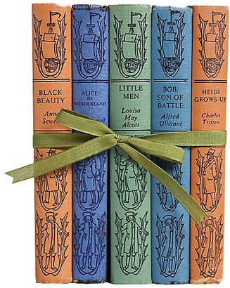 One Kings Lane Vintage Book Gift Set: Children's Classics - - Booth & Williams