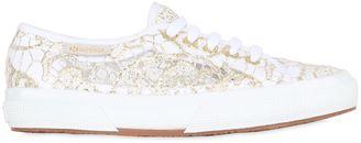 2750 Macramé Cotton Canvas Sneakers $107 thestylecure.com