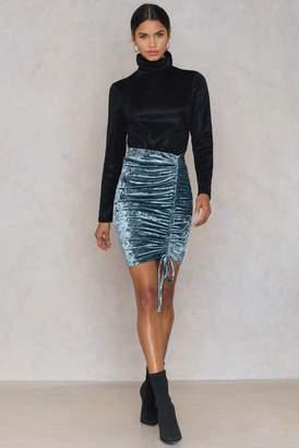 Dance & Marvel Sequins Mini Skirt