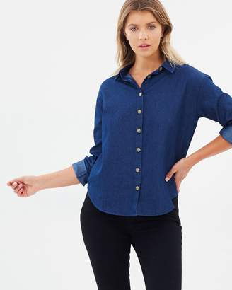 Atmos & Here ICONIC EXCLUSIVE - Bella Chambray Shirt