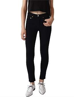 RE/DONE High Rise Skinny Ankle Crop Jean