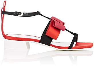 Lanvin Women's Bow-Appliquéd Ankle-Strap Sandals