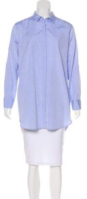 MiH Jeans Long Sleeve Button-Up Tunic