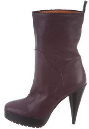 Lanvin Grained Leather Boots