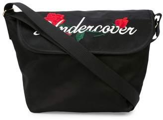 Undercover embroidered logo shoulder bag