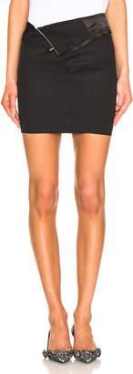 RtA Zandra Skirt in Tailor Black | FWRD