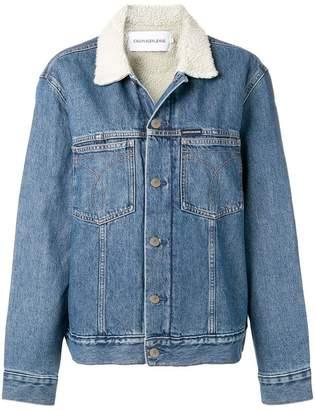 Calvin Klein Jeans denim trucker jacket