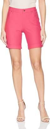 Hue Women's Essential Denim Boyfriend Shorts