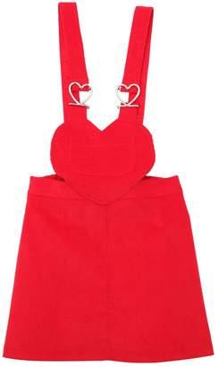 Corduroy Skirt W/ Straps