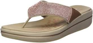 Skechers Women's Upgrades - Stone Cold - Rhinestone Thong Flip-Flop