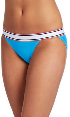 Jockey Retro Stripe String Bikini
