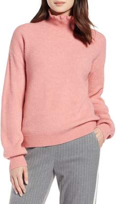 Halogen Ruffle Neck Sweater
