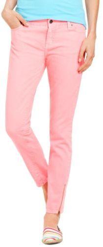 Tommy Hilfiger Womens Skinny Ankle Zip Denim