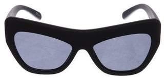 Le Specs Adam Selman x Playgirl Tinted Sunglasses