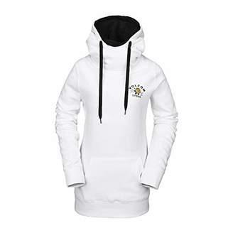 Volcom Women's Costus Pollover Baselayer Hooded Fleece Snow Sweatshirt
