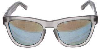 Westward Leaning Westward\\Leaning Mirrored Keyhole Sunglasses