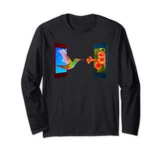 Hummingbird Lovers Novelty Gift Long Sleeve T-Shirt