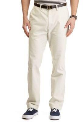 Nautica Flat-Front Cotton Twill Pants