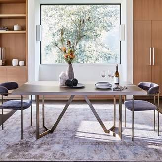 west elm Tower Dining Table - Concrete