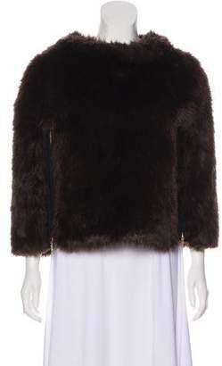 Juicy Couture Faux Fur Poncho
