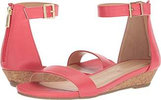 Kenneth Cole Reaction Women's Viber Ankle Strap Low Wedge Sandal