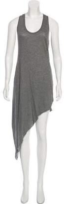 Helmut Lang Sleeveless Asymmetrical Dress