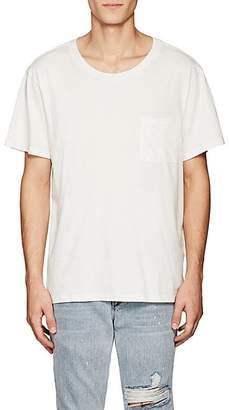 NSF Men's Patch-Pocket Cotton T-Shirt - White