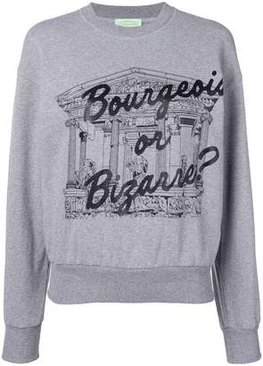 Aries Bourgeois or Bizarre スウェットシャツ