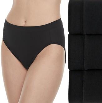 Jockey Women's Cotton Stretch 3-pack Hi-Cut Panties 1552